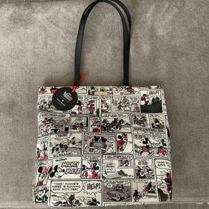 Kate Spade Mickey & Minnie Mouse Tote